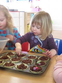 Rydal Day Nursery Child Cooking